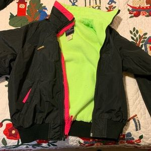 Vintage 1990's fleece Columbia jacket
